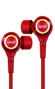 e-3lue ep914 Iron Man in-ear kablede headdphones for smartphones