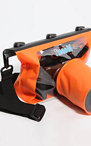 חומר PVC עמיד למי תיבה יבשה תותח / ניקון 20 * 20 * 5 (בצבעים אקראיים)