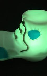 creatieve kleurrijke happy schoenen-kleur veranderende LED-nachtlampje