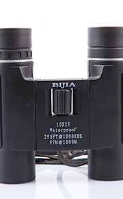 BIJIA 10 25 mm Binoculars HD BAK4 Night Vision /Generic /Roof Prism /High Definition / Waterproof 97m/1000m Central