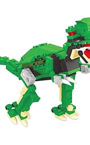 dr wan, le byggesten dinosaur æg snoet æg til at holde pædagogisk legetøj til børn 6802 tyrannosaurus rex