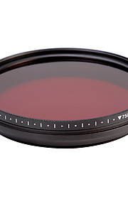fotga® alt-i-én justerbar 530 nm-750 nm infrarøde ir pass røntgen linse filter 62mm
