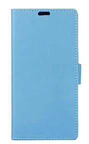couvercle rabattable style portefeuille avec fente pour carte huawei compagnon 8 sacoche motif grain cass de mode de texture