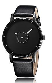 Moda resistente à água 2016 unisex olha o relógio de marcação de liga de quartzo de couro vestido de luxo de moda (cores sortidas)
