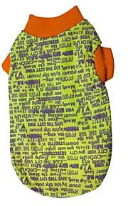 猫用品 / 犬用品 Tシャツ レッド / ブラック / ブルー / ピンク / グレー / パープル 夏 / 春/秋 花/植物 ファッション-Pething®