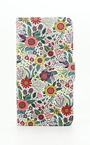 Chrysanthemum Indicum Painted PU Phone Case for Huawei Ascend P9 Lite