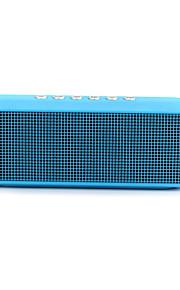 mini 3D Surround Altoparlanti stereo Bluetooth per computer Radio dell'altoparlante FM Altoparlanti portatili wireless portatili microfono