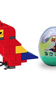 dr wan, le byggesten mini dyr æg emballering af papegøje puslespil forsamling byggesten legetøj