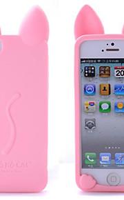 koko cas chat silicone de téléphone pour iphone 6 / 6s / 6 plus / 6s, plus