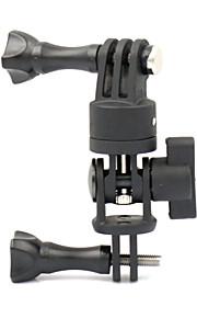 LOTOPOP 360 Degree Monopod Rotation Helmet Universal Bracket  Mount for GoPro HD Hero 4 3+ XIAOYI