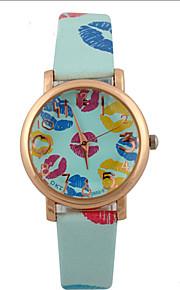 relógio de moda feminina aumentou lábios relógios relógio de quartzo estudantes relógio de pulso relógio