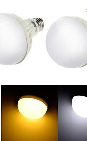 2개 YouOKLight E26/E27 12W 18 SMD 5630 850 lm 따뜻한 화이트 / 차가운 화이트 C35 장식 LED 글로브 전구 AC 220-240 V