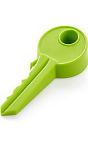 tope de la puerta llave de silicona de diseño (1 PC color al azar)