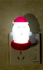creatieve warm wit Santa Claus met betrekking tot kindje slaap 's nachts het licht