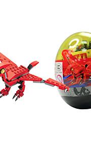 dr 6306 brinquedos lego novo le dinossauro torcido bloco bloco de ovo quebra-cabeça para manter brinquedos infantis montados
