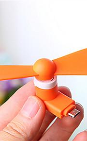 popolare ventilatore mini usb per la galassia S6 / S5 / S4 / S3 e HTC / Nokia / Sony / lg (colori assortiti)