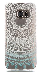 colorato caso fiori TPU per il bordo / s7 Samsung Galaxy s7