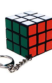 magic Cube Diansheng Tre Lager Hastighet Svart Blekna ABS