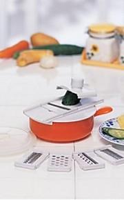 Multifunctional Kitchen Peelers & Gra,Five Parts,Random Color