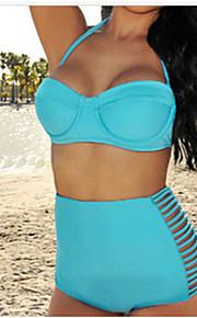 European Version Of The High Waist Swimsuit Sexy Swimwear Triangle Split Swimwear Steel Toby Gini Gather