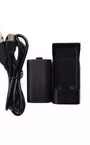Rechargeable Battery Pack + USB Charger Dock for Xbox One Wireless Controller
