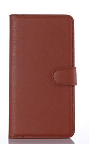 노키아 루미아에 대한 고급 정품 가죽 지갑 케이스 535분의 435 / 640분의 540 / 640xl / 850분의 730 (모듬 색상)