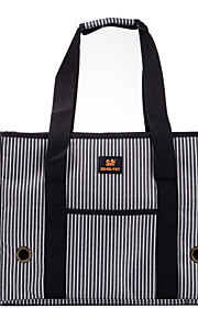 Stripe Style Pet Carrier Dog Bag for Dogs and Cats