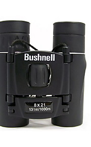 8X21 Night Vision  Binoculars Telescope HD Portable Binoculars Steady Binoculars Army 131m/ 1000m Black
