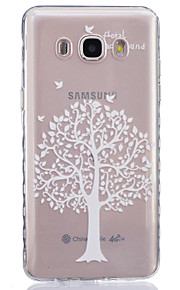 White Tree Painted Pattern TPU Material Phone Case for Galaxy J1/J1ACE/J120/J2/J3/J5/J510/J7/G360/G530/G850