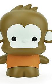 USB 충전식 만화 원숭이 눈 보호 데스크 램프 LED 야간 조명