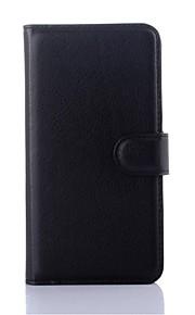 노키아 루미아 950 XL에 대한 양각 PU 가죽 지갑 전화 홀더