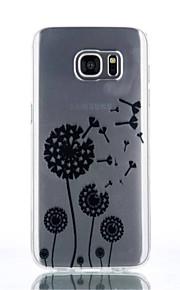 caso il dente di leone modello TPU materiale di telefono per Galaxy S4 / s4mini / S6 / S6 bordo / bordo S6 plus / S7 / bordo s7