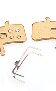 RED LAND Cycling/Bike Brakes & Parts Synthetic SPD - Current Speed Brake Pads 100 Golden   DS4007