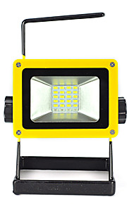 20W 24 LED Floodlight Movable Portable Rechargeable Spotlight Outdoor Emergency/Camping Light 3*18650/Charger