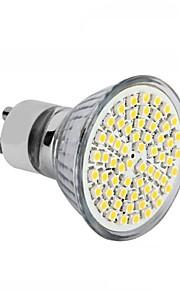 4W GU10 / GU5.3(MR16) / E26/E27 LED-spotpærer MR16 60SMD SMD 2835 300 - 350LM lm Varm hvit / Kjølig hvit DekorativAC 220-240 / DC 12 / AC