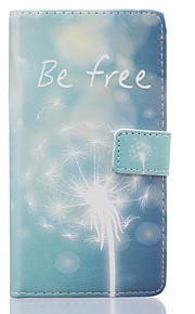 Dandelion Pattern PU Leather Material Phone Case for Huawei Ascend P9 Lite/ P9