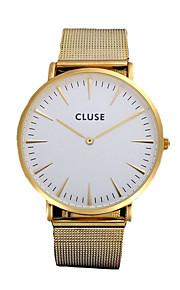 hommes Cluse montre dos homens relógio da liga cinta impermeável senhoras quartzo relógio relógios relógios de pulso