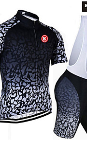 KEIYUEM®Others Unisex Short Sleeve Spring / Summer / Autumn Cycling Clothing Bib Suits/ Breathable Quick Dry#18