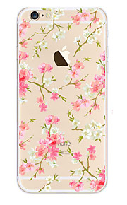 kakashi weinig verse serie TPU schilderij zachte hoes voor de iPhone 6s / 6 / 6s plus / 6 plus (exuberant bloem)