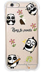 kakashi dierlijk patroon TPU schilderen airbag Hoogte- zachte hoes voor de iPhone 6s / 6 / 6s plus / 6 plus (panda)