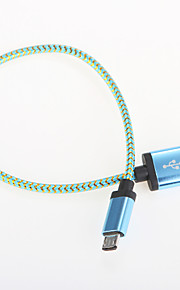 USB 2.0 Portable Aluminum Cables 25cm