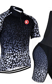 KEIYUEM®Others Unisex Short Sleeve Spring / Summer / Mountain bike Cycling Clothing Bib Suits/ Breathable Quick Dry#19