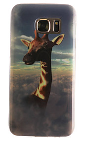 girafa padrão TPU + IMD caso de telefone material para Galaxy S3 / s3mini / S4 / s4mini / S5 / s5mini / S6 / S6 edge / S7 / S7 borda