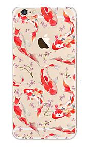 kakashi weinig verse serie TPU schilderij zachte hoes voor de iPhone 6s / 6 / 6s plus / 6 plus (koi)