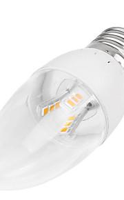 5W E14 / B22 / E26/E27 LED-lysestakepærer Innfelt retropassform 18LED SMD 2835 350-400 lm Varm hvit / Kjølig hvit Dekorativ AC 85-265 V1