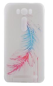 TPU materiaal veer geschilderd patroon zachte telefoon geval voor asus zenfone max zc550kl