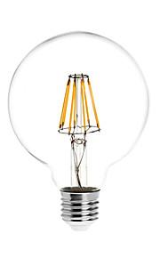 8W E26/E27 LED-globepærer G95 8 COB 780 lm Varm hvit Vanntett AC 85-265 V 1 stk.