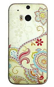 espalda Ultra-Fino Caricaturas PC Duro Cubierta del caso para HTC HTC M8 HTC M8