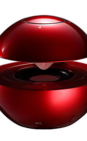 fordonsindustri levererar färgstarka röda LED-lampor pekskärmen sfäriska mini subwoofer