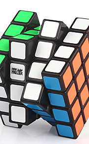 Magic Cube / Puzzle Toy IQ Cube Yongjun Four-layer Flourescent / Professional Level Smooth Speed Cube Magic Cube puzzle
